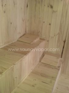 equipos de sauna vapor